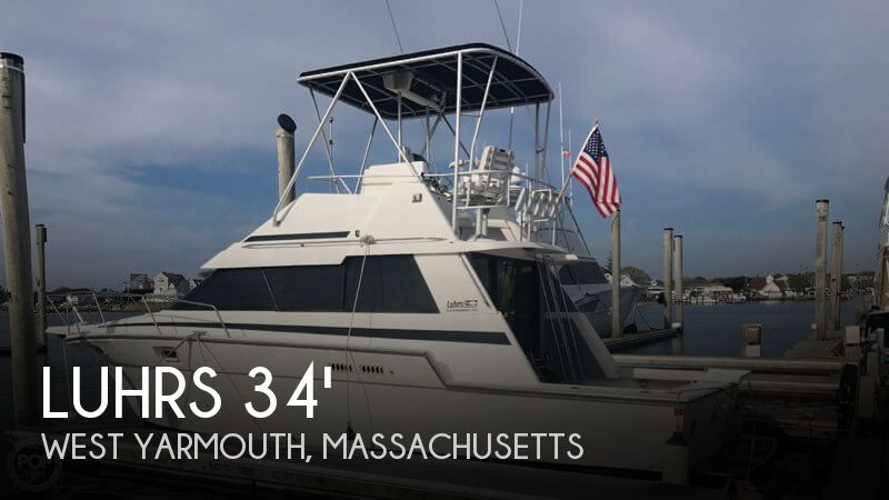 Used Luhrs Boats For Sale by owner | 1988 Luhrs 342 Tournament