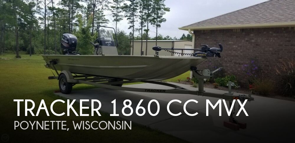 2016 Tracker Boats boat for sale, model of the boat is 1860 CC MVX & Image # 1 of 40