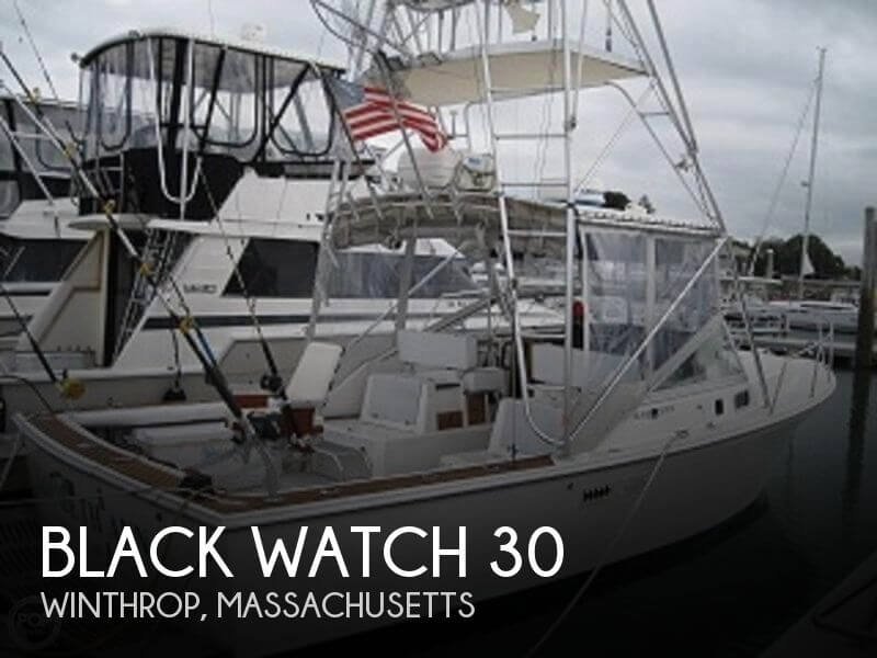 Used Black Watch Boats For Sale by owner | 1990 Black Watch 30