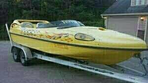 Sonic Ferrari H2O, 22', for sale - $22,500