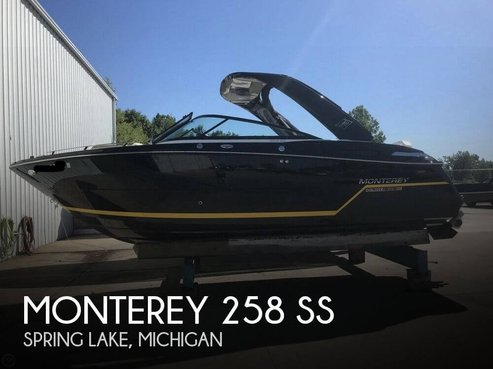 Used Boats For Sale in Michigan by owner | 2016 Monterey 25