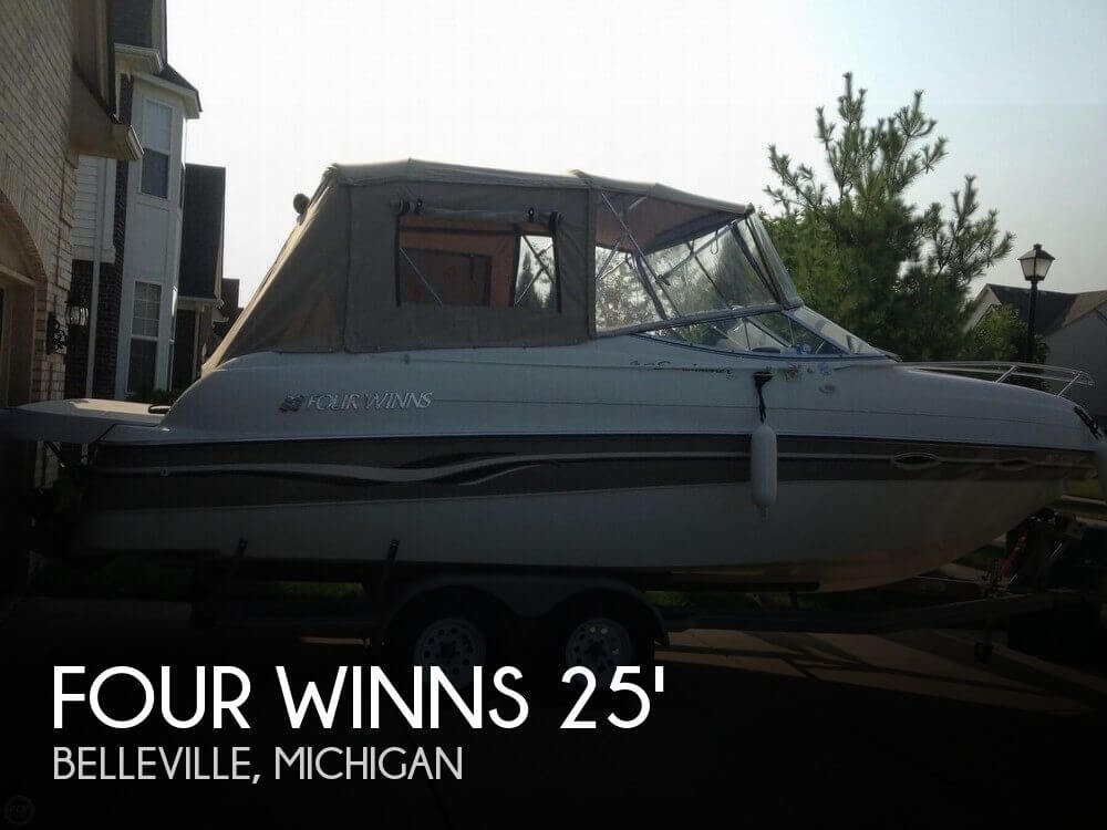 Used FOUR WINNS Boats For Sale in Michigan by owner | 1999 Four Winns 25