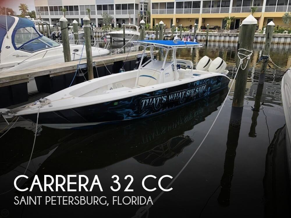 Used CARRERA Boats For Sale by owner | 2007 Carrera 32