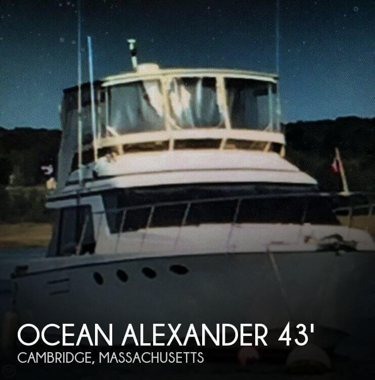 Used Ocean alexander Boats For Sale by owner | 1987 Ocean Alexander 43