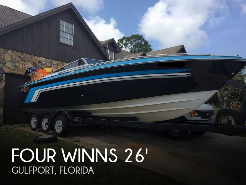 Used Four Winns 26 Boats For Sale by owner | 1988 Four Winns 26