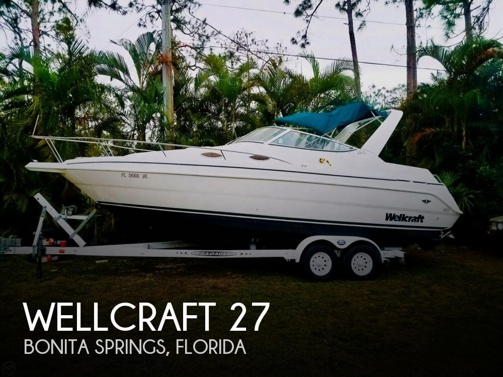 Used Wellcraft 27 Boats For Sale by owner | 1998 Wellcraft 27