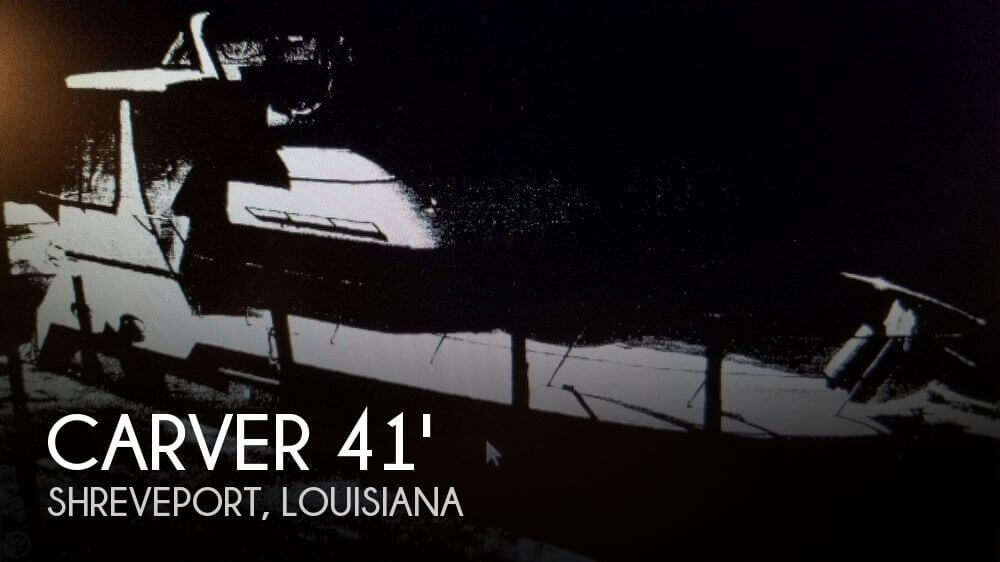 Used Boats For Sale in Longview, Texas by owner | 1999 Carver 41