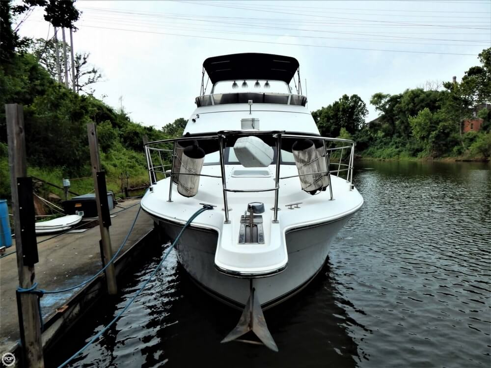 1999 Carver boat for sale, model of the boat is 356 Aft cabin & Image # 7 of 40