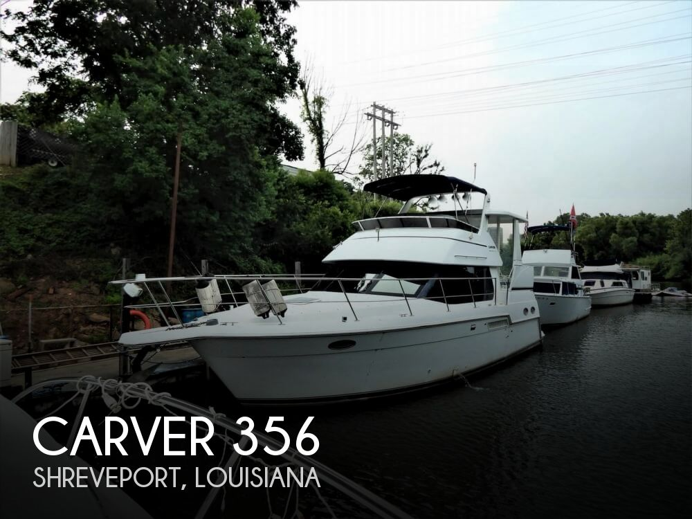 1999 Carver boat for sale, model of the boat is 356 Aft cabin & Image # 1 of 40