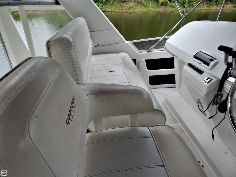 1999 Carver boat for sale, model of the boat is 356 Aft cabin & Image # 36 of 40