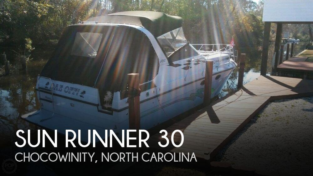 Used Sun runner Boats For Sale by owner | 1988 Sun Runner 30