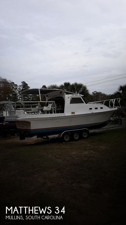 Used Matthews Boats For Sale by owner | 1979 Matthews 34