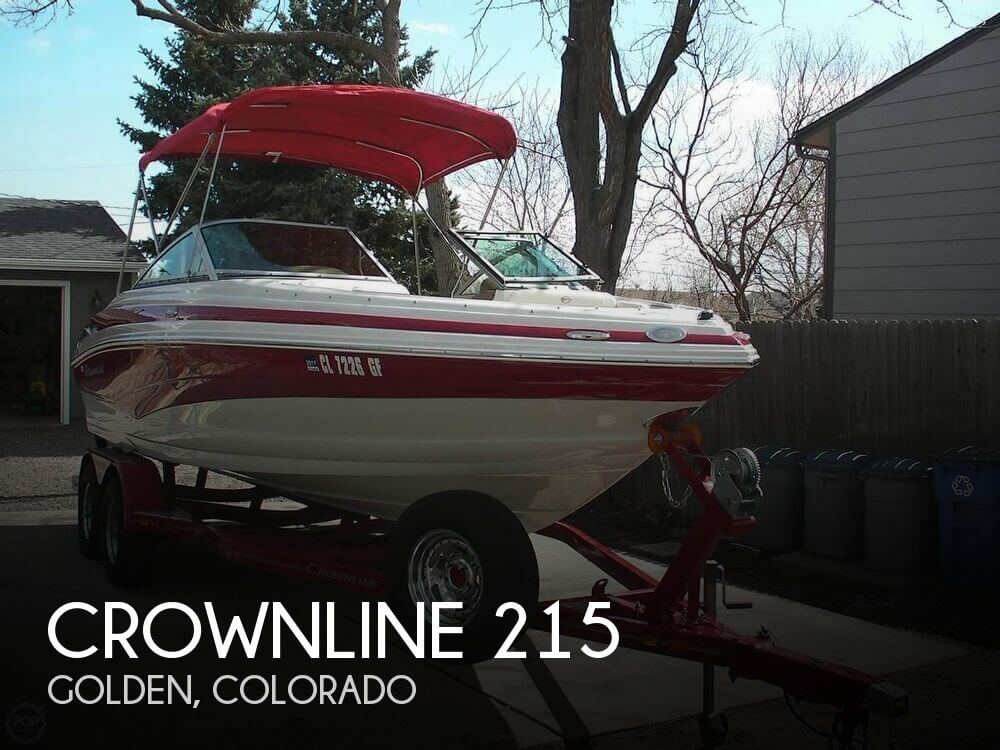 Used Boats For Sale in Denver, Colorado by owner | 2013 Crownline 21