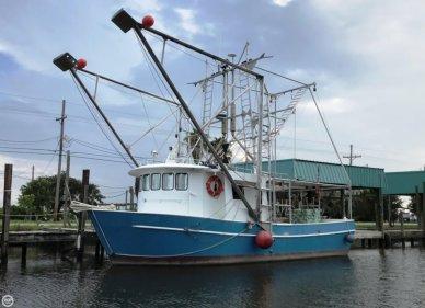 Custom Built Aluminum 40 x 16 Shrimp Boat, 40', for sale - $135,000
