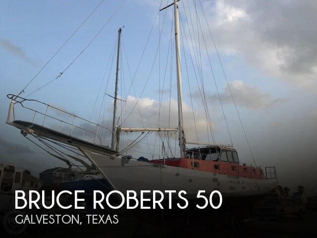 Used Boats For Sale in Houston, Texas by owner | 1995 Bruce Roberts 50