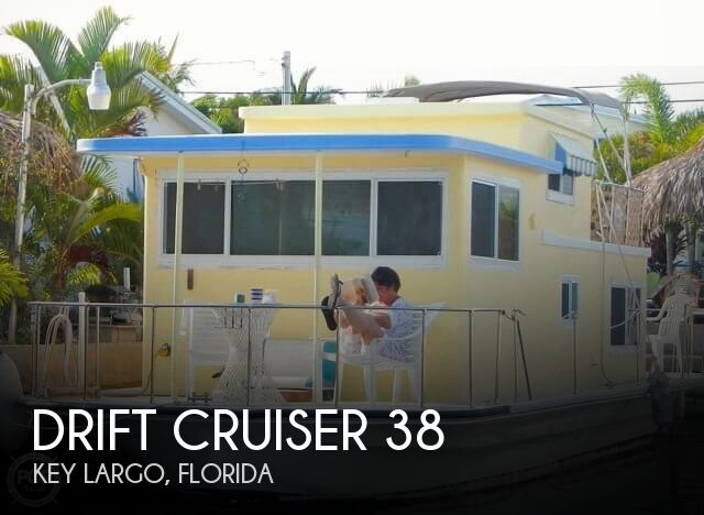 Used Houseboats For Sale in Florida by owner | 1970 Drift Cruiser 38