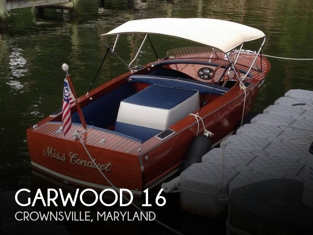 Used Garwood Boats For Sale by owner | 1947 Garwood 16
