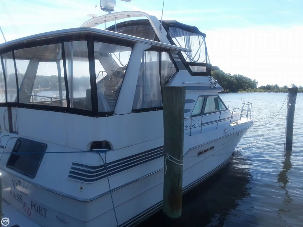 1988 Sea Ray boat for sale, model of the boat is 415 Aft Cabin & Image # 13 of 40
