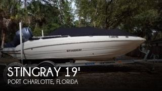 Used Stingray Deck Boats For Sale by owner | 2016 Stingray 19