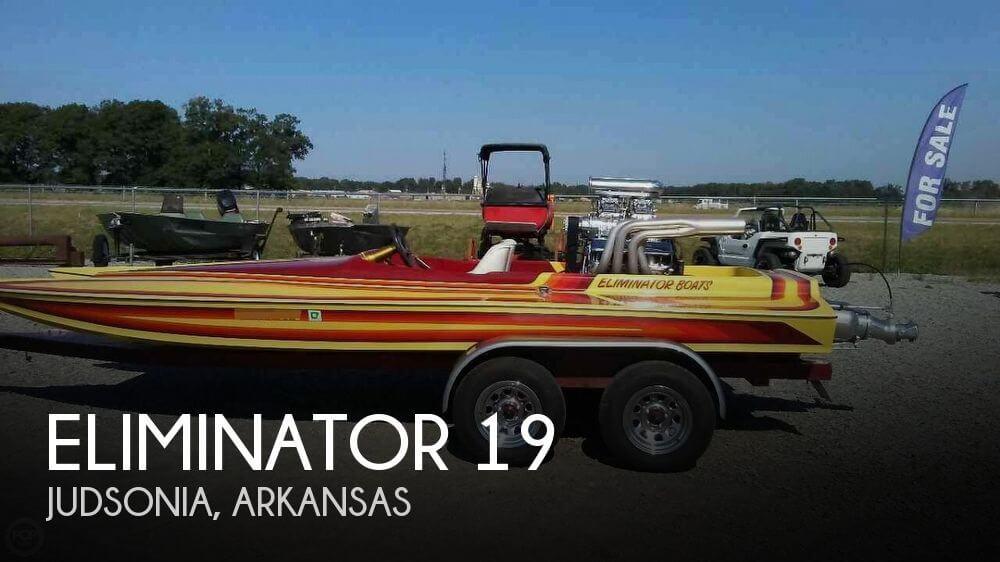 Used Boats For Sale in Little Rock, Arkansas by owner | 1988 Eliminator 19
