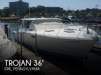 Used Boats For Sale in Erie, Pennsylvania by owner | 1978 36 foot Trojan Hardtop Salon