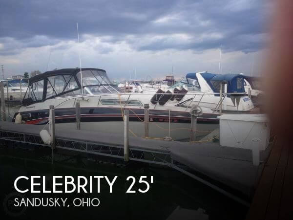 Used CELEBRITY Boats For Sale by owner | 1989 Celebrity 25