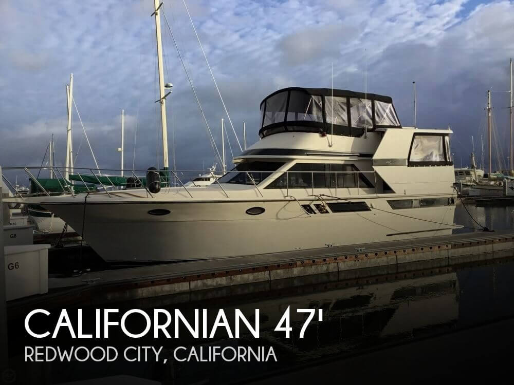 Used Boats For Sale in Santa Cruz, California by owner | 1987 Californian 42