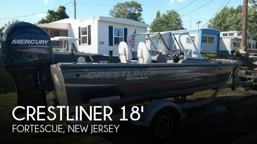Used Crest Boats For Sale by owner   2013 Crestliner 18