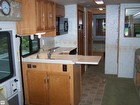 Sink, Microwave, Cabinets