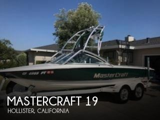 Used Boats For Sale in Salinas, California by owner | 2001 Mastercraft 19