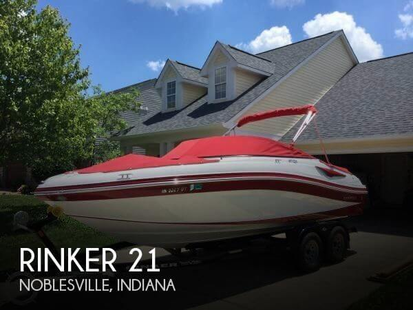 Used Boats For Sale in Indianapolis, Indiana by owner | 2017 Rinker 21