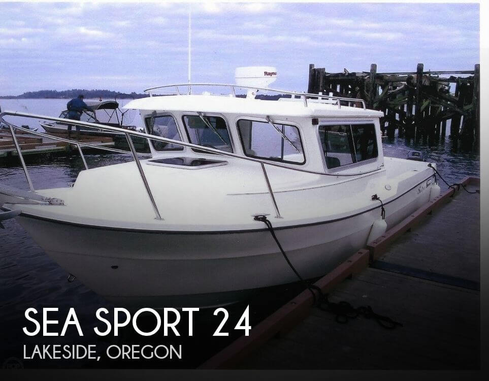 Used Boats For Sale in Eugene, Oregon by owner | 2004 Sea Sport 24