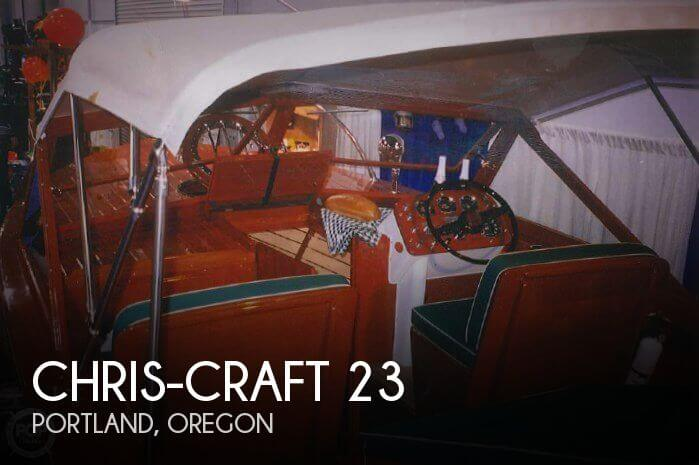 Used Boats For Sale in Portland, Oregon by owner | 1963 Chris-Craft 23