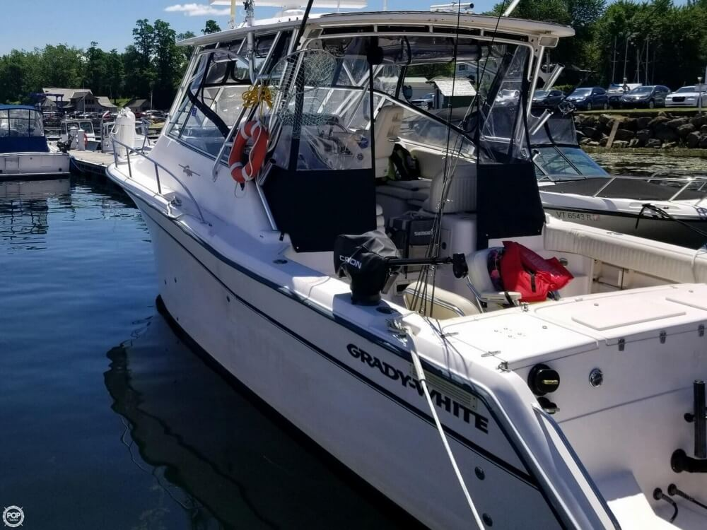 2003 Grady-White boat for sale, model of the boat is 330 express & Image # 3 of 40