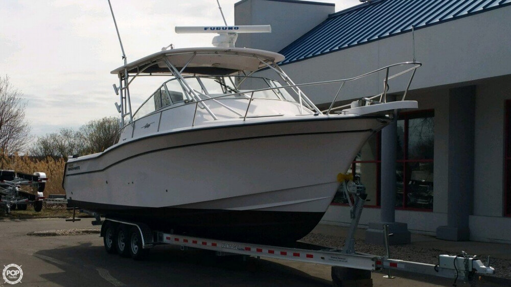 2003 Grady-White boat for sale, model of the boat is 330 express & Image # 2 of 40