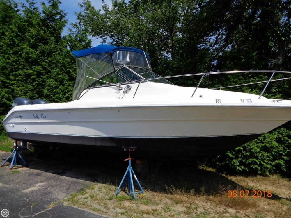 1992 Sea Ray boat for sale, model of the boat is Laguna 24 & Image # 6 of 41