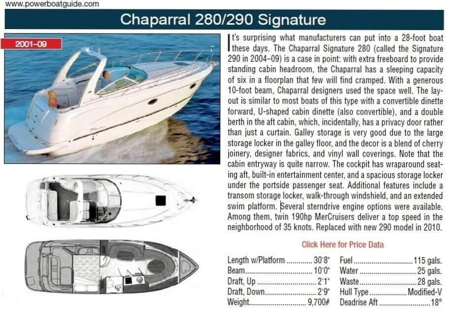 2006 Chaparral 290 Signature - image 24