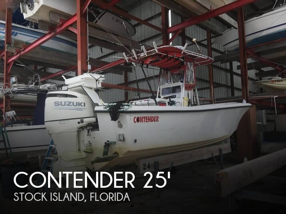 Used Contender Boats For Sale by owner | 1992 Contender 25