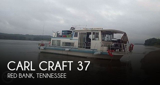 Used Houseboats For Sale in Tennessee by owner | 1978 Carl Craft 37