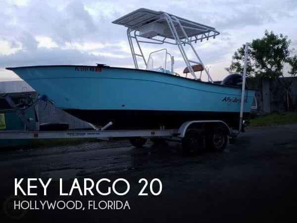 Used Key largo Boats For Sale by owner   1998 Key Largo 20