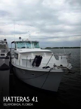 Used HATTERAS Motoryachts For Sale by owner | 1965 Hatteras 41
