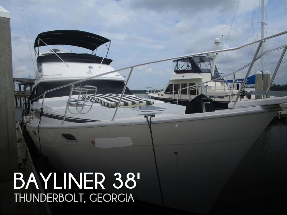 Used Boats For Sale in Savannah, Georgia by owner | 1990 Bayliner 3888 Motoryacht