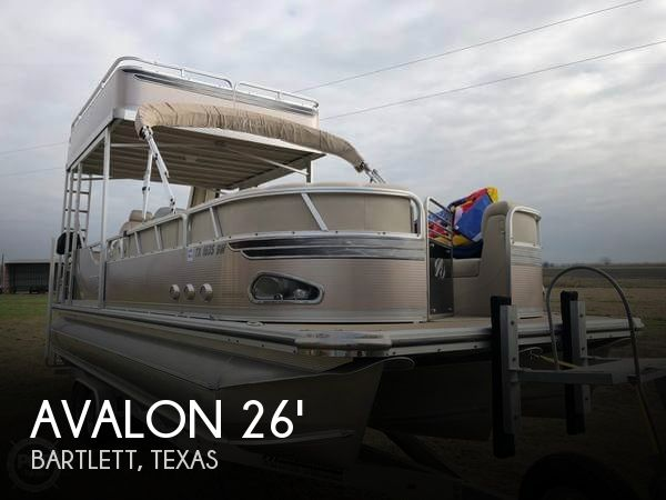 Used Boats For Sale in Austin, Texas by owner | 2011 Avalon 26