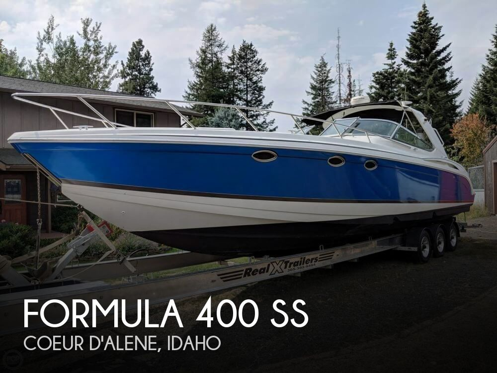 Used Boats For Sale in Spokane, Washington by owner | 2003 Formula 40