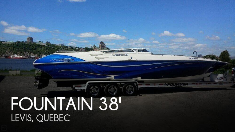 Used Boats For Sale in Canada by owner | 2004 Fountain 38
