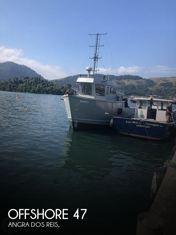 2017 Offshore boat for sale, model of the boat is 47 Supply Vessel & Image # 1 of 40