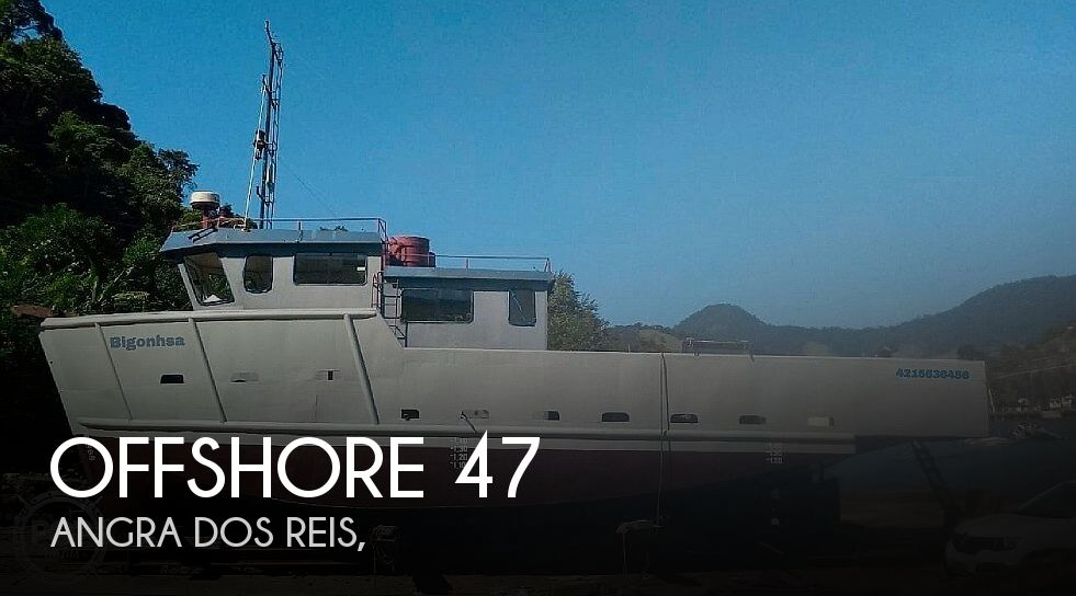 2017 Offshore boat for sale, model of the boat is 47 Supply Vessel & Image # 1 of 41