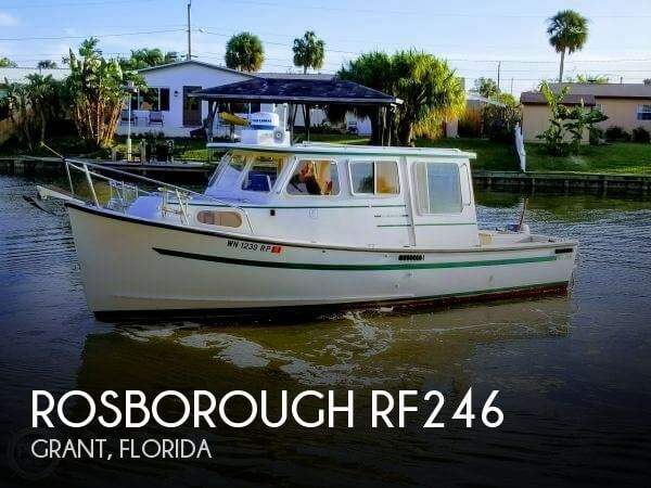 1993 Rosborough boat for sale, model of the boat is RF246 & Image # 1 of 40