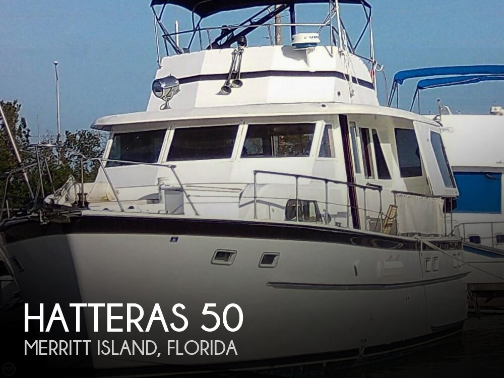 Used HATTERAS Motoryachts For Sale by owner | 1967 Hatteras 50