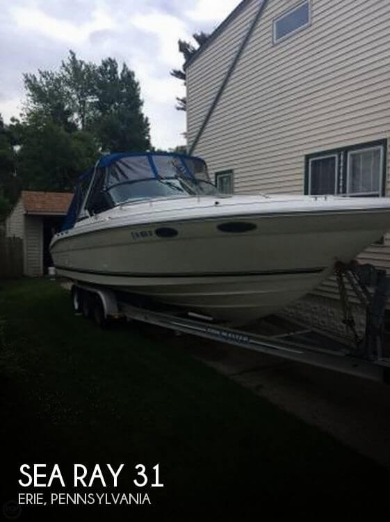 Used Boats For Sale in Erie, Pennsylvania by owner | 1994 Sea Ray 31